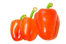 Free Three Red Peppers Stock Photos - 6103473