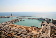 Free Port Of Barcelona Stock Image - 6103511