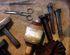 Free Old Tools Stock Image - 6104121