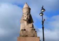 Free Ancient Egyptian Sphinx In St.Petersburg, Russia Stock Photography - 6104292