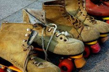 Free Roller Skates Stock Images - 6104384
