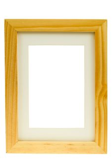 Classic Wooden Image Frame Royalty Free Stock Photos