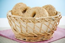 Free Breakfast Bagel Royalty Free Stock Image - 6105136