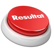Free Button Resultat Royalty Free Stock Photography - 6105627