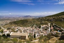 Free Small Town At Spanish Countryside Royalty Free Stock Photo - 6105835