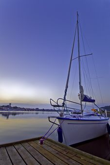 Free Early Morning Harbour Stock Photo - 6105920