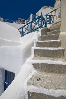 Free Stairs Of Santorini Royalty Free Stock Images - 6105939