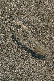 Free Footprint Royalty Free Stock Images - 6106059