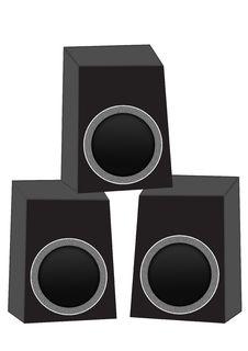 Free Speakers Royalty Free Stock Photos - 6106328
