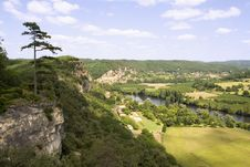 Dordogne Countryside Stock Images
