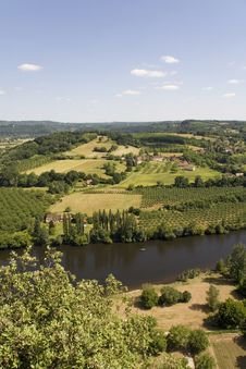 Dordogne Countryside Royalty Free Stock Image