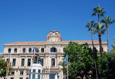 Hotel De Ville De Cannes Stock Photography