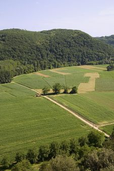 Dordogne Countryside Stock Photography