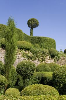Free Marqueyssac Gardens Royalty Free Stock Photos - 6106808
