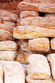 Free Bunch Of Bread Royalty Free Stock Photo - 6106865