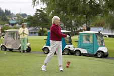 Free Golfer Swinging Royalty Free Stock Images - 6107479