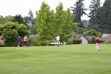 Free Women Playing Golf - Horizontal Stock Images - 6107574