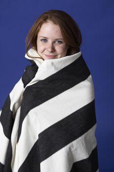Free Three Quarter Wrapped In Stripes Stock Photo - 6107890