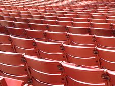 Free Red Stadium Chairs Stock Photo - 6108410