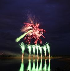 Free Fireworks Competition 2008 Royalty Free Stock Images - 6109489