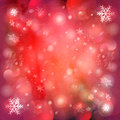 Free Christmas Red Background With Snowflakes Royalty Free Stock Image - 61046166