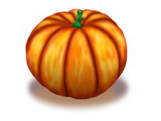Free Big Pumpkin Royalty Free Stock Images - 61052419