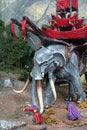 Free Battle Elephant Royalty Free Stock Image - 6112946