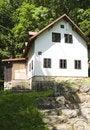 Free House On The Mountain Meadow Stock Photos - 6114123