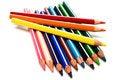 Free Beautiful Color Pencils Stock Photo - 6119310