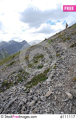 Free Mountain Top Royalty Free Stock Photography - 6111117