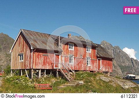 Free Abandoned Old Lofoten S Farm Stock Image - 6112321