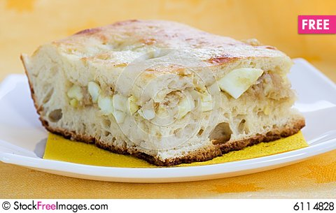 Free From Cabbage Pie And Eggs (recipe N2, Series) Royalty Free Stock Photos - 6114828