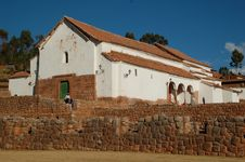 Free Church In Chinchero,peru Royalty Free Stock Image - 6110016
