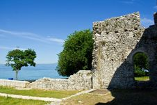 Early Christianity Ruins, Croatia Stock Image