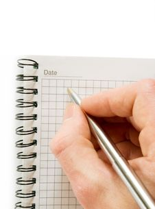 Free Notebook Royalty Free Stock Photo - 6110945