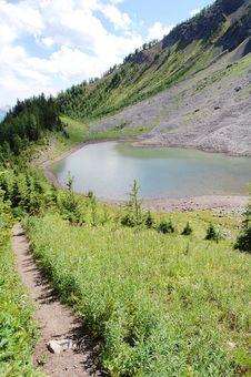 Free Alpine Lake Royalty Free Stock Photos - 6110978