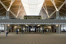 Shanghai Airport Royalty Free Stock Photo