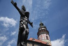 Free Cesky Krumlov, Czech Royalty Free Stock Photos - 6111748