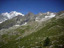 Free Mont Blanc 11 Stock Image - 6111801