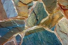 Stone Surface Of Wall Royalty Free Stock Photos