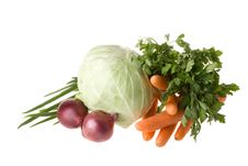 Free Still-life With Vegetables Royalty Free Stock Images - 6111919