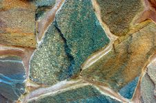 Stone Surface Of Wall Stock Image