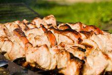Free Shish Kebab Royalty Free Stock Photo - 6112305