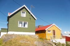 Free Henningsvaer In Lofoten S  Colored Houses Royalty Free Stock Photos - 6112438