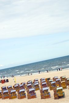 Free Beach Chair Baltic Sea Stock Photos - 6112633