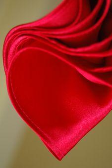 Free Red Satin Royalty Free Stock Image - 6112706