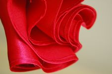 Free Red Satin Royalty Free Stock Photography - 6112797
