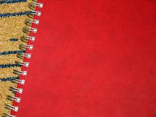 Free Notebook Cover With Spiral - Bound Royalty Free Stock Images - 6113009