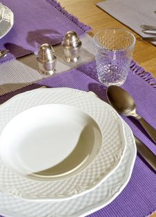 Free Place Setting Royalty Free Stock Photo - 6113025