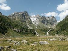 Val Lavinuoz, Engadin, Switzerland Royalty Free Stock Images